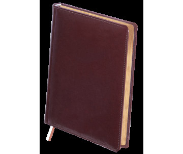 Diary undated A4 BOSS 288 pages brandy