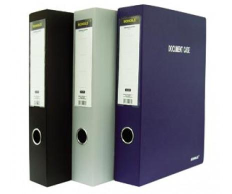 Папка-коробка архивная А4 6 см 61007
