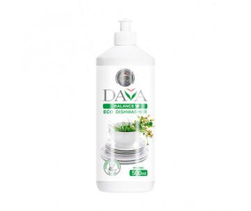 Dishwashing liquid Dava 500 gr