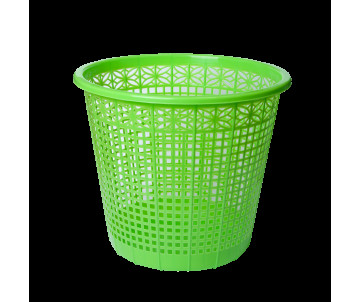 Wastepaper basket light green,8L ZB 3040-15