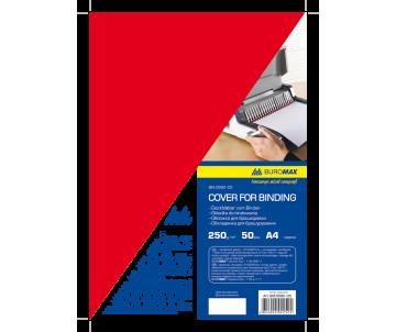 Обкладинка картонна А4 250г/м2 червона