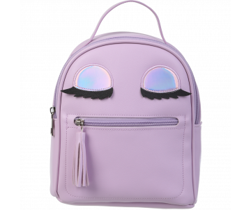 Backpack EYES lavender ZB 702303