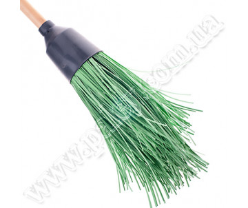 Broom plastic with handle