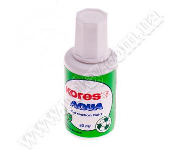Corrector with brush: 20 ml Kores AQUA