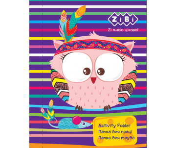 Folder for labour FRIENDLY OWL ZB-14932