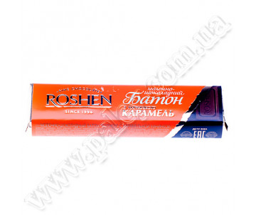 Baton Roshen mol.-Shokolad.and caramel filling 40g.