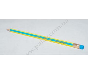 Graphite pencil with eraser 22026