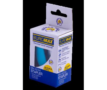 Степлер 24 до 15арк блакитний BM4234-14