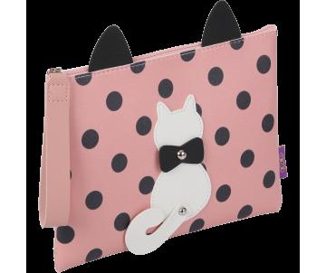 Папка А5 PUSSY CAT рожева ZB 702501