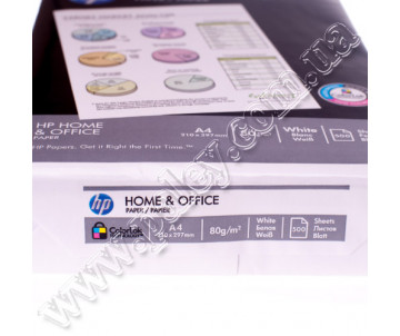 Папір А4 80 грам HР Home Office 500 арк