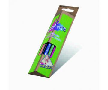 Олiвцi кольоровi 12 шт Grip-Rite 12 кольорів трикутні