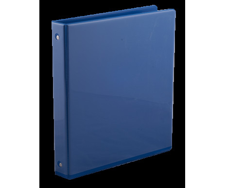 The Registrar of advertising A4 4 ring 40mm PP blue Buromax