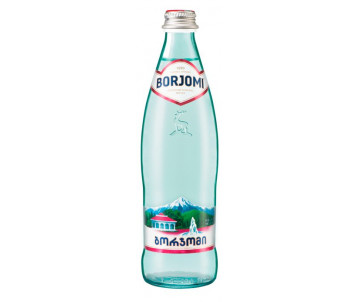 Mineral water 0,5 l glass mineral water