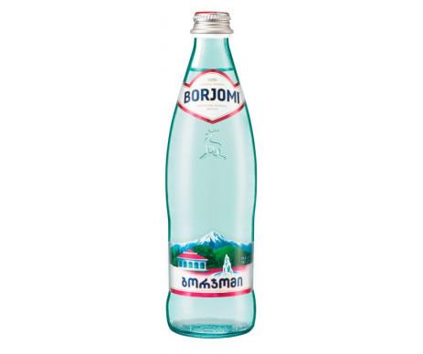 Mineral water 0,5 l glass mineral water