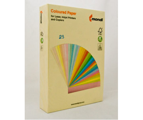 Paper A4 80g pastel yellow 500 sheets