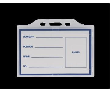 ID horizontal, 91х68мм, acrylic
