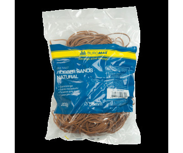 Elastic bands for money 200g, NATURAL