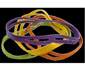 X-shaped bands, dia. 80mm, 16pcs.