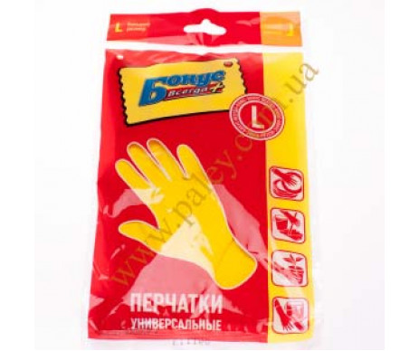Bonus rubber gloves (L)