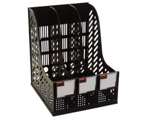 Tray vertical, black NORM 40025