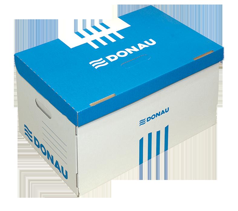 Короб для архівних боксів, синій