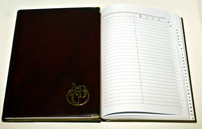 Діловий щоденник недатований А5 фото