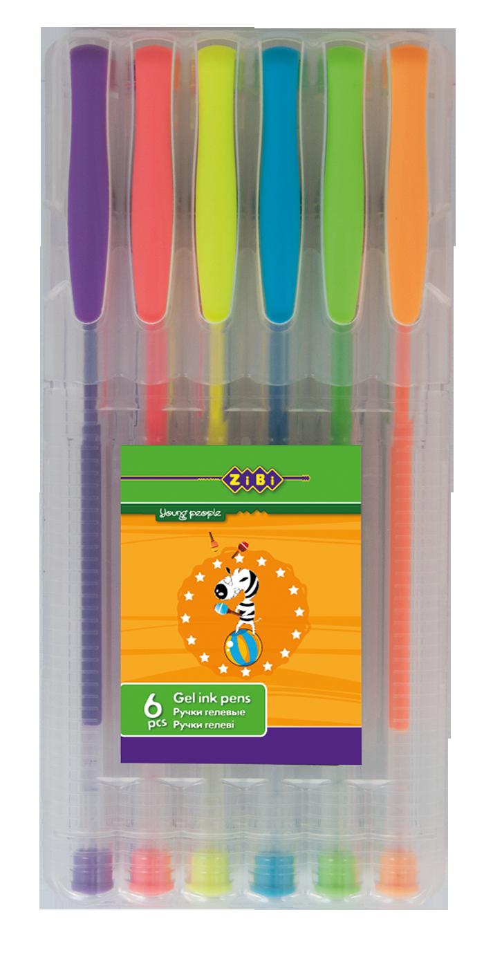 Купити Набір з 6-ти гелевих ручок NEON