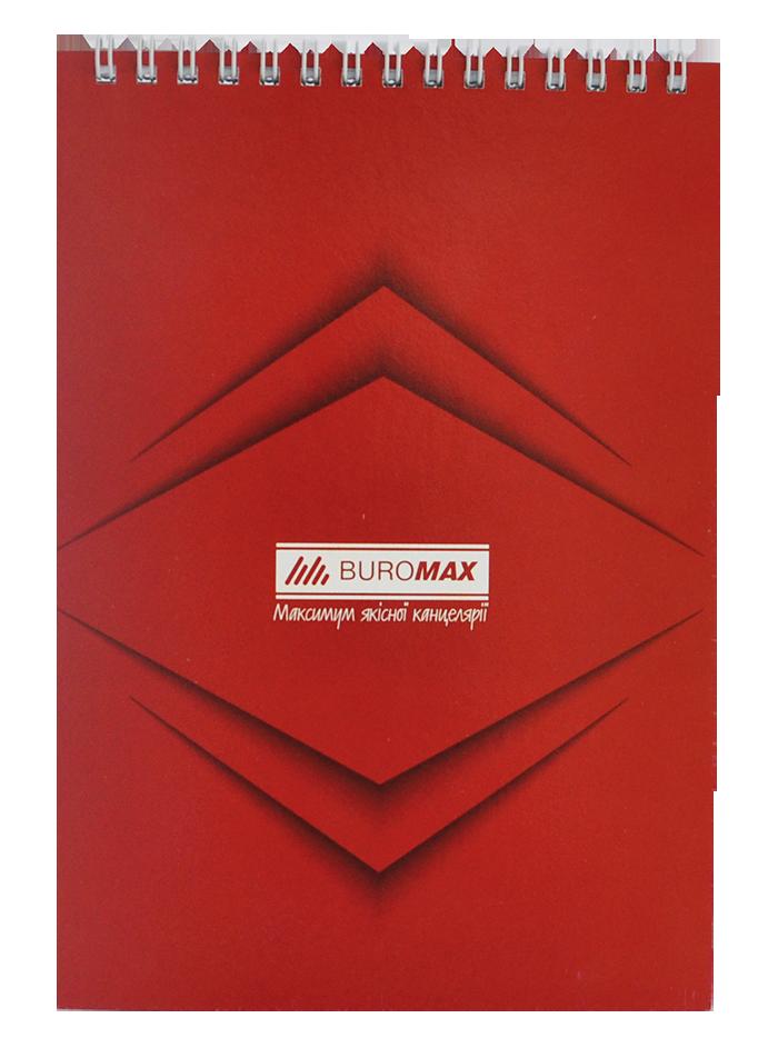 Блокноти А5 Buromax на спіралі фото