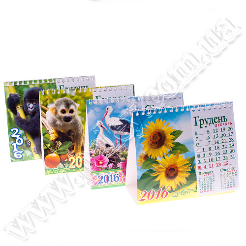 Календар шалаш з блоком фото