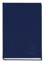 Книжка алфавітна А4, 176 аркуші, 135х285 мм, баладек синій