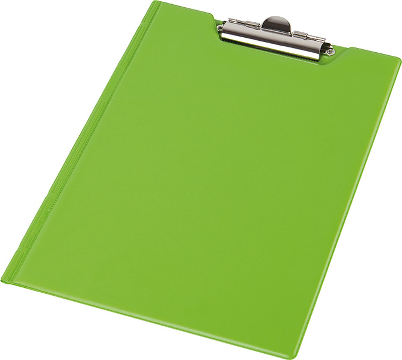Кліпборд-папка А4, PVC, салатовий