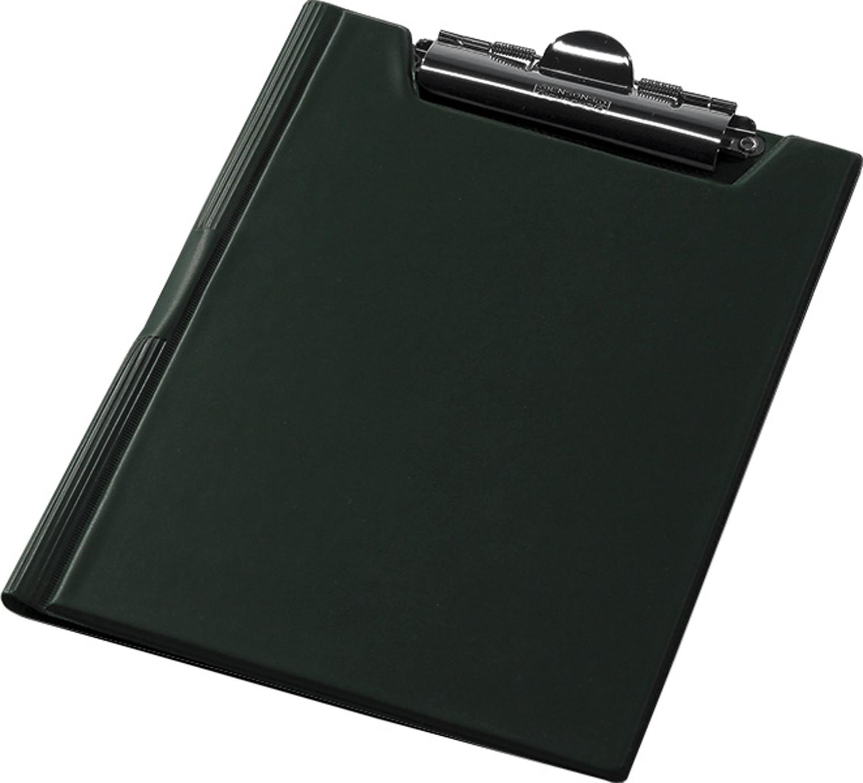 Кліпборд-папка А5, PVC, зелений
