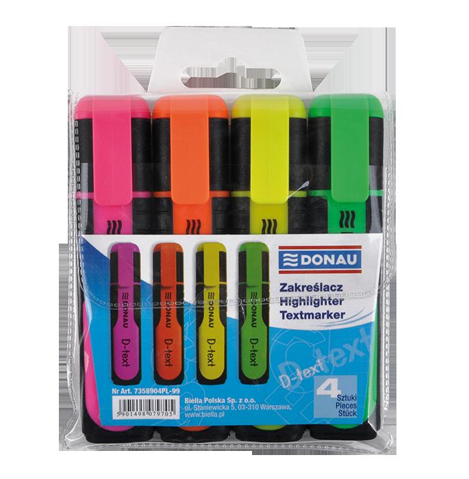 Купити Комплект текст-маркерів d-text 4 кольори