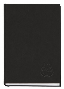 Книга алфавитная А4, 176 листов, 135х285 мм, баладек черный