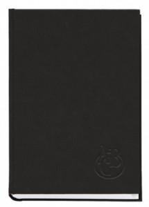 Книжка алфавітна А4, 176 аркуші, 135х285 мм, баладек чорний фото