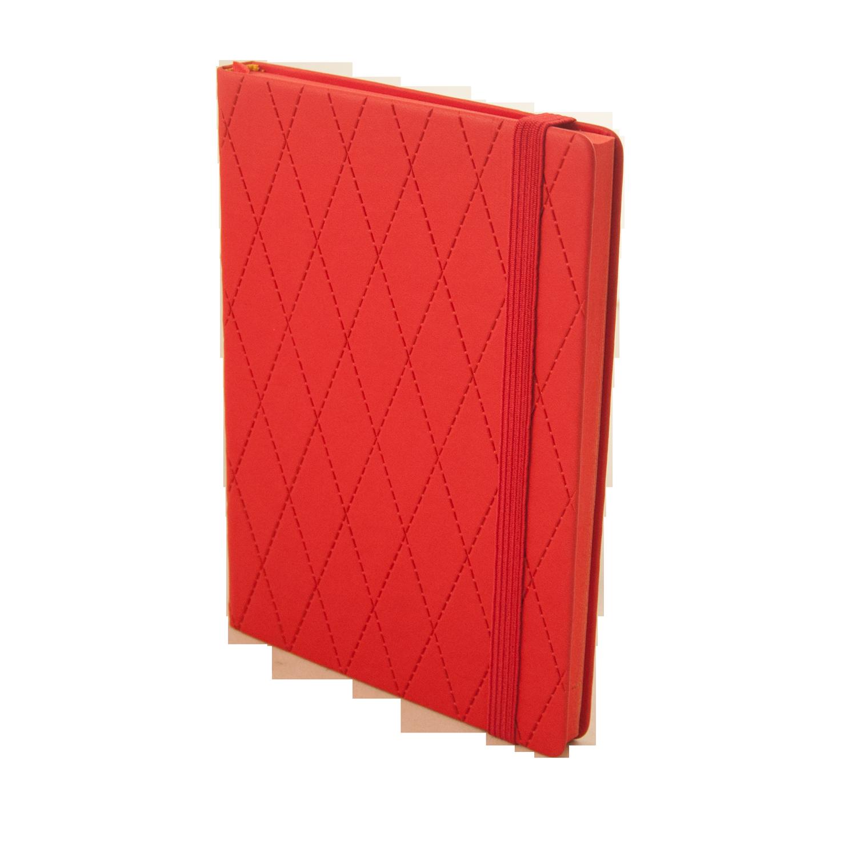 Діловий щоденник недатований CASTELLO A5 червоний фото