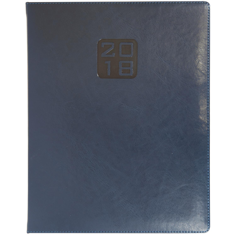 Купить Еженедельник датированный 2018 BRAVO(Soft), A4, 136 стр. синий