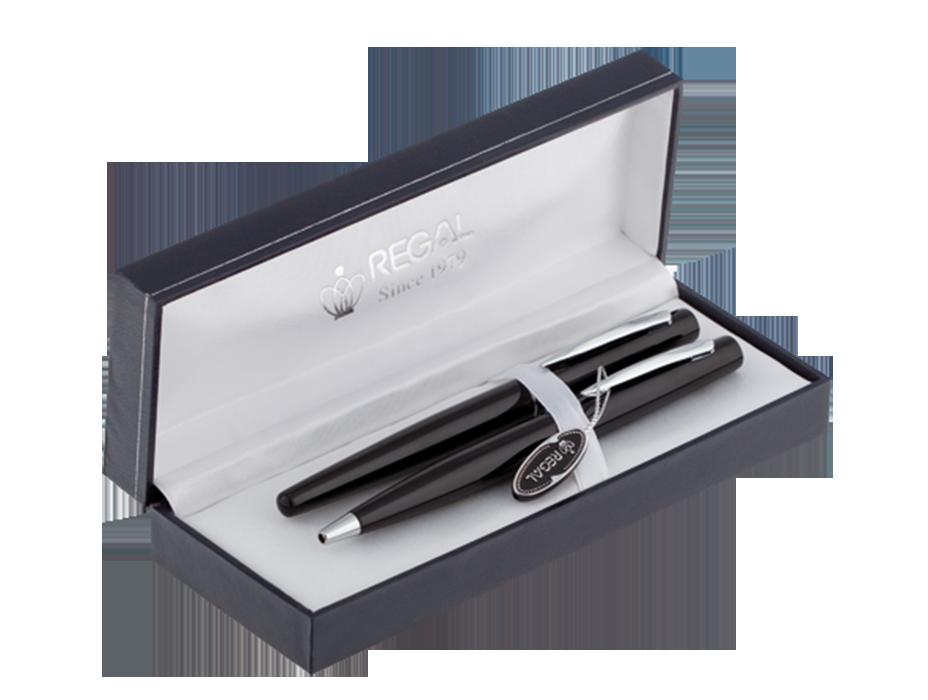 Комплект ручок (П Р) в футлярі L, чорний
