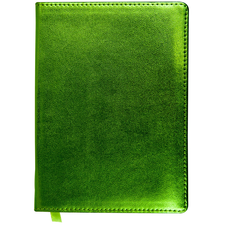 Ежедневник A6, датированный, METALLIC, салатовый фото