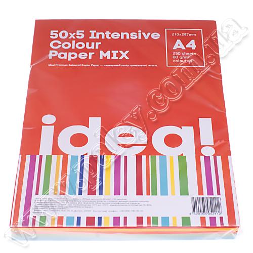 Набір кольорового паперу Mix А4 80 г 5 кольорів