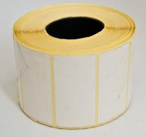 Термоетикетка (58 х40 ) біла 700 шт